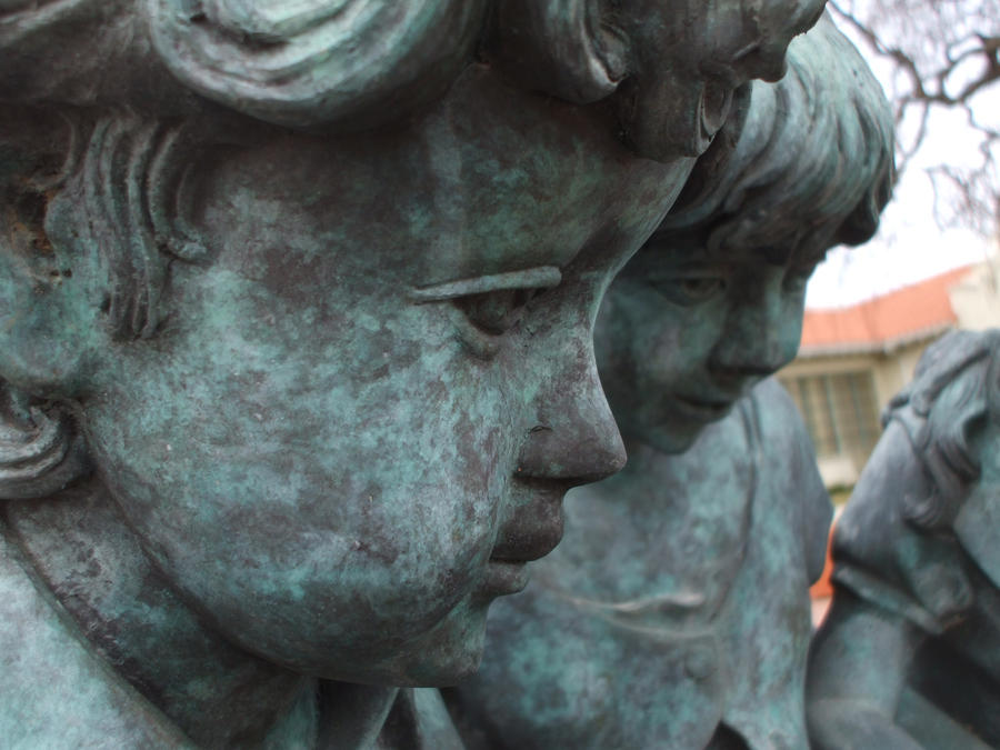 Statue, Children by scixual