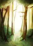 Sparkling Forest Floor