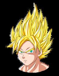 Goku by RichTheSpriter
