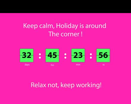 clock timer design