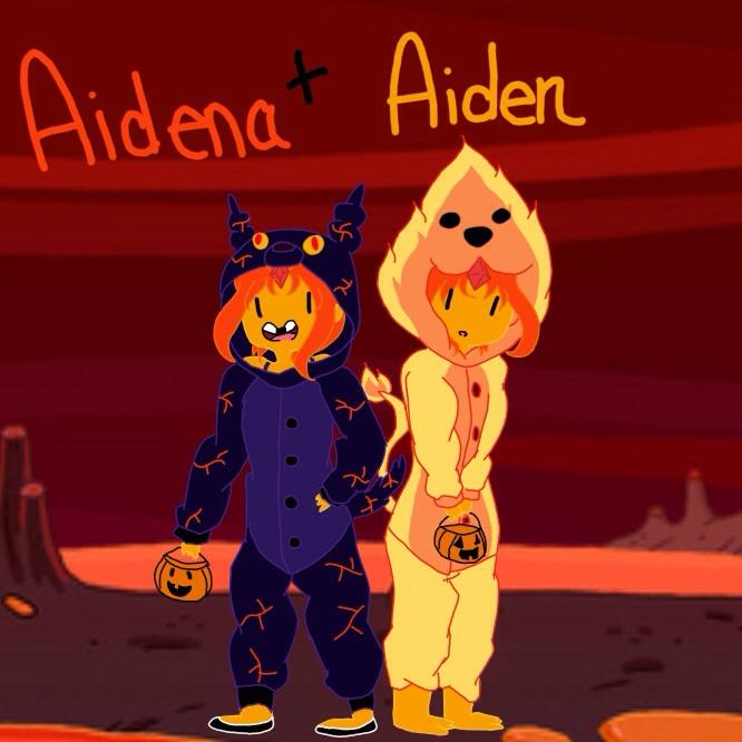 Aiden + Aidena Halloween by annabell22