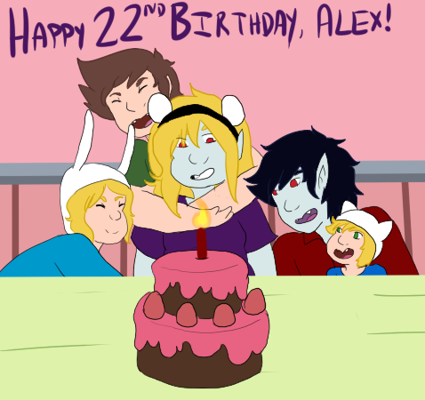 Alex is 22! by annabell22