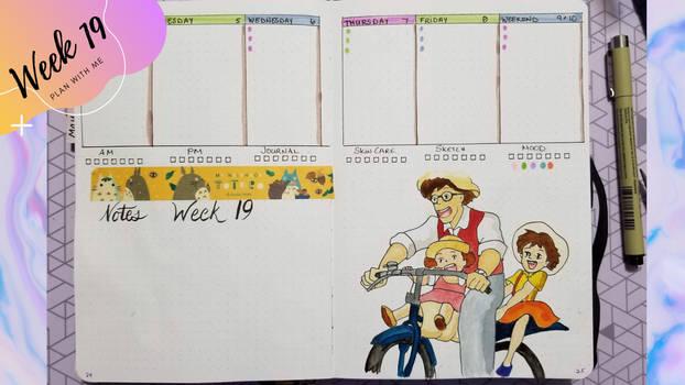 Week 19 Bullet Journal