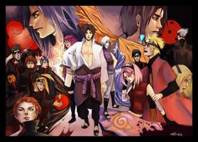 Naruto poster by DeyonSide