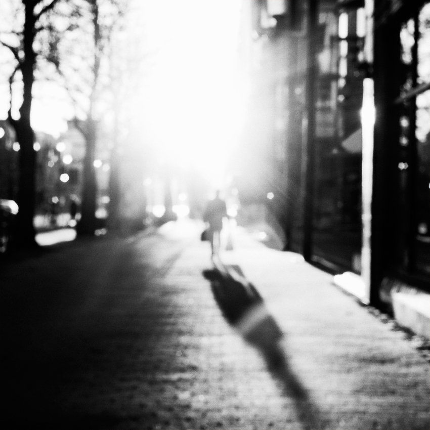 On the sunny side of the street by StephanePellennec