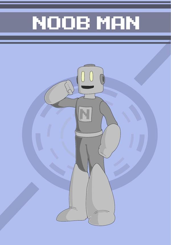 BDN-008(?): N00B Man by KarakatoDzo