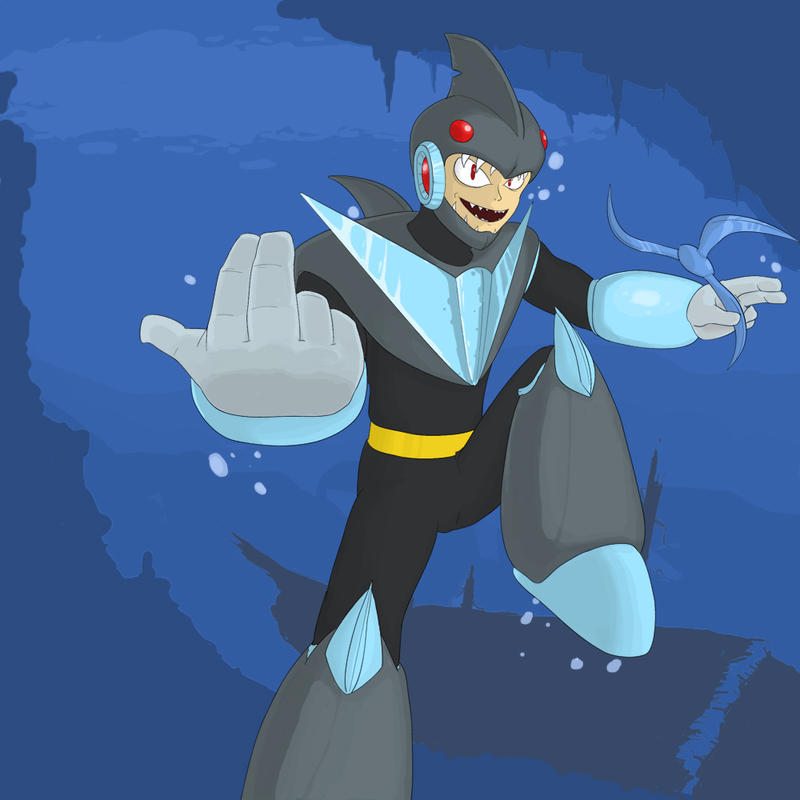 Sharkman art - photo#22