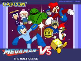 Mega Man Vs. The Multiverse by KarakatoDzo