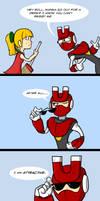 Robo Pun (Magnet Man)