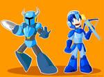 Shovel Man meets Mega Knight!