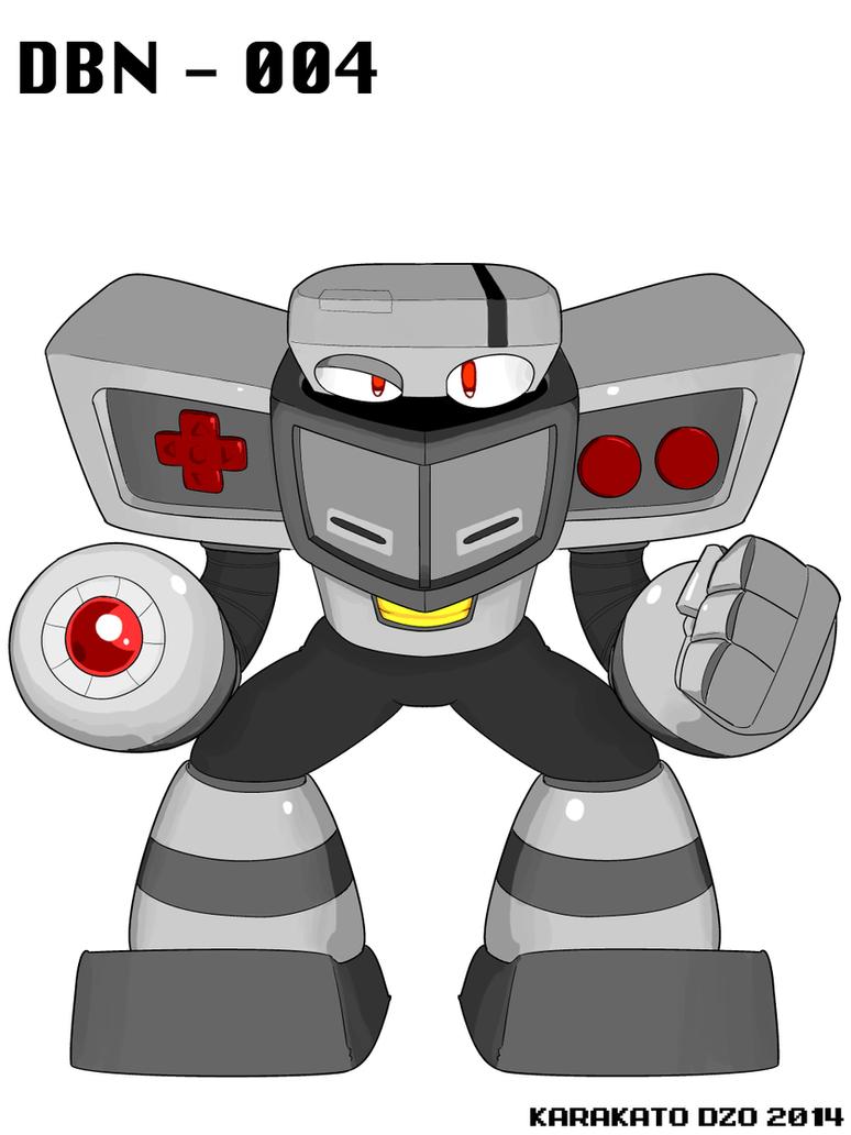 DBN-004: Retro Man by KarakatoDzo