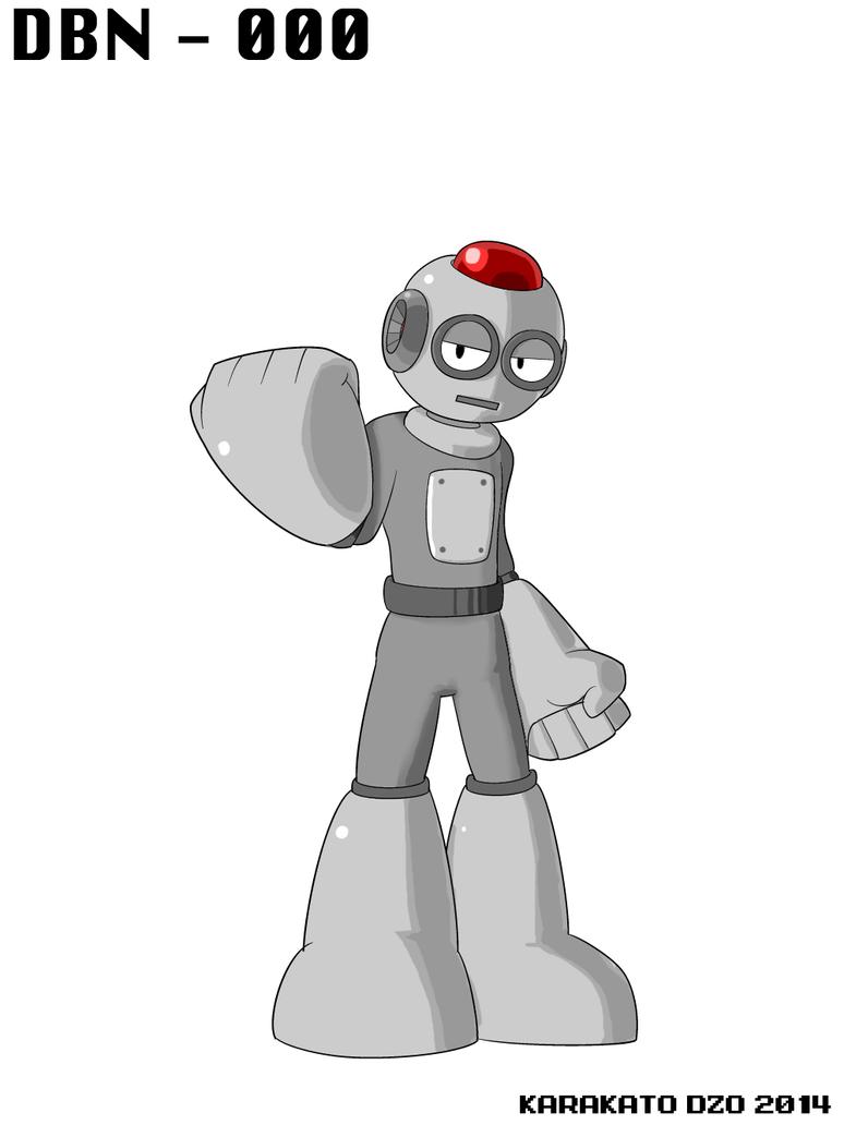 DBN-000: Base Man by KarakatoDzo