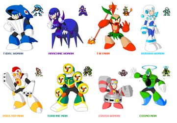 Mega Man Eternal 2 Robot Masters by KarakatoDzo