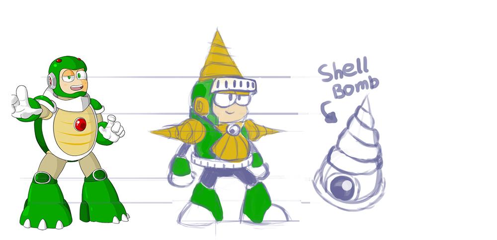 ShellMan Concept by KarakatoDzo