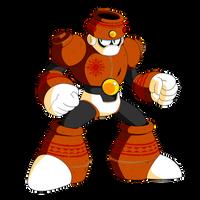 Clay Man (Mega Man FD) by KarakatoDzo