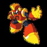 Axe Man (Mega Man Super Fighting Robot)