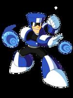 Thrill Man (Mega Man Rock Force) by KarakatoDzo