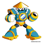 Tsunami Man (Mega Man Shattered Diamond)