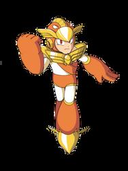 Justice Man (Mega Man Rock Force) by KarakatoDzo