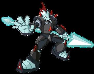 Spear Placoderm by KarakatoDzo