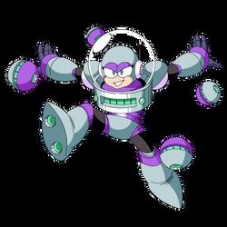 Orbit Woman (Mega Man Shattered Diamond)