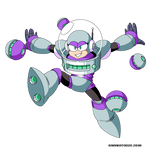 Orbit Woman (Mega Man Shattered Diamond)