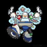 Arcade Man (MegaMan XOver)