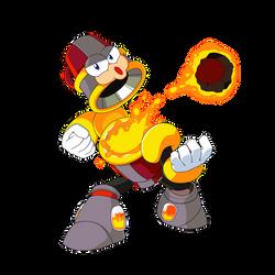 Thermo Man (Mega Man Rock Force)