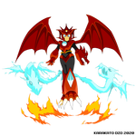 Scorch Woman (Mega Man: Four Hounds)