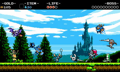 Shovel Knight and the Order of What