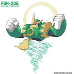 PBN:002 (Mega Man Perfect Blue)
