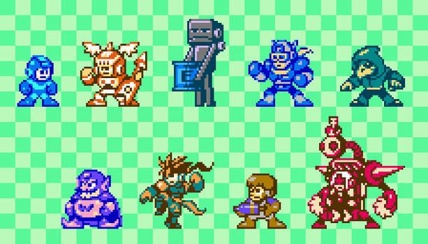 Mega Man Vs Multiverse Round 3: Who?