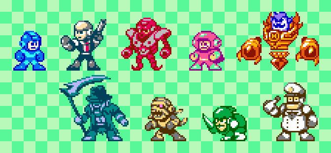 Mega Man Vs the Multiverse Round 5