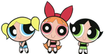The Happy PowerPuff Girls by TheLivingBluejay