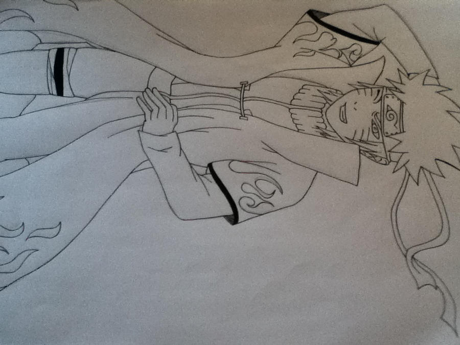 Naruto hokage drawing by DragonBallZFreakz on DeviantArt