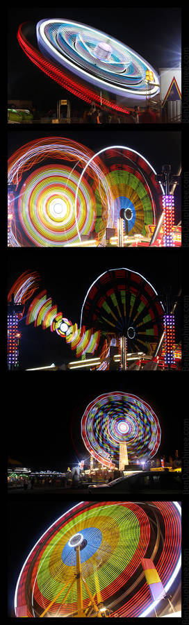 Night Time Fairground