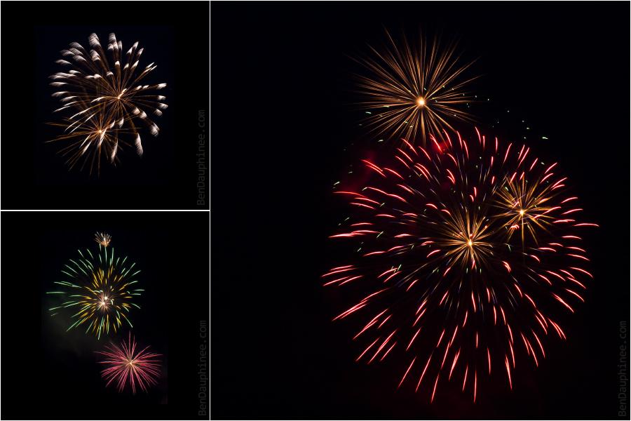 Canada Day Fireworks by darwin2kx