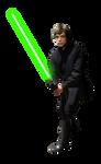 Luke Skywalker Jedi - Render PNG