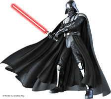 Star Wars Darth Vader - Render PNG by jonathanrey