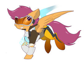 Scootaloo Tracer by MistyEDash