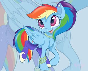 Diva Rainbow by MistyEDash