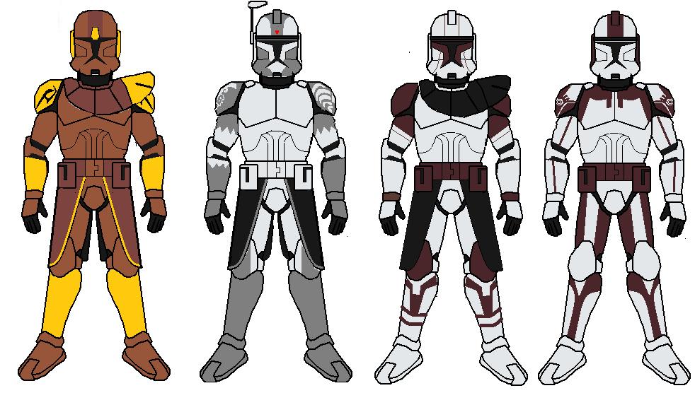 Clone commanders part 2 by Sonny007 on DeviantArt