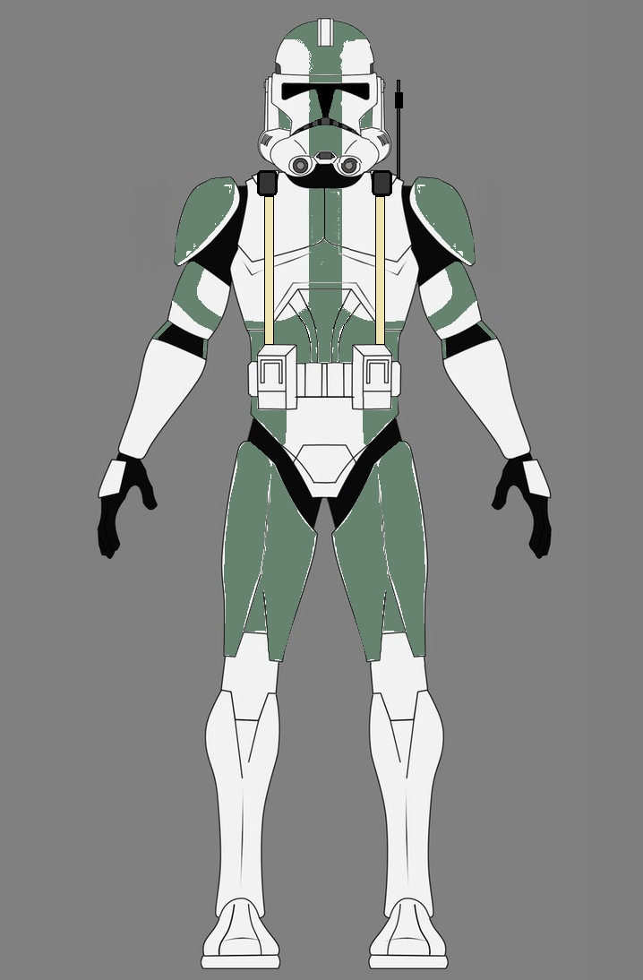 clone commander gree coloring pages - photo#31