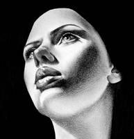 Scarlett Johansson study by IleanaHunter