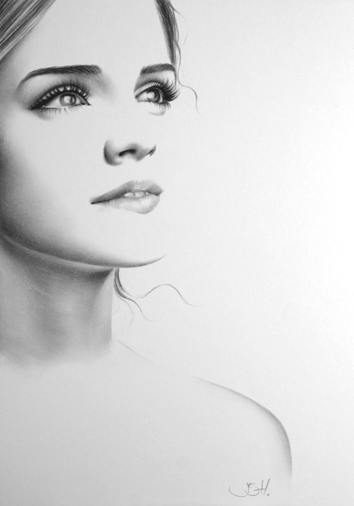 Emma Watson Minimal by IleanaHunter