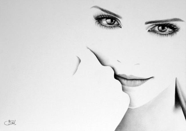 Emma Watson by IleanaHunter