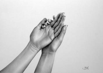 Light Read: a Hand Study by IleanaHunter