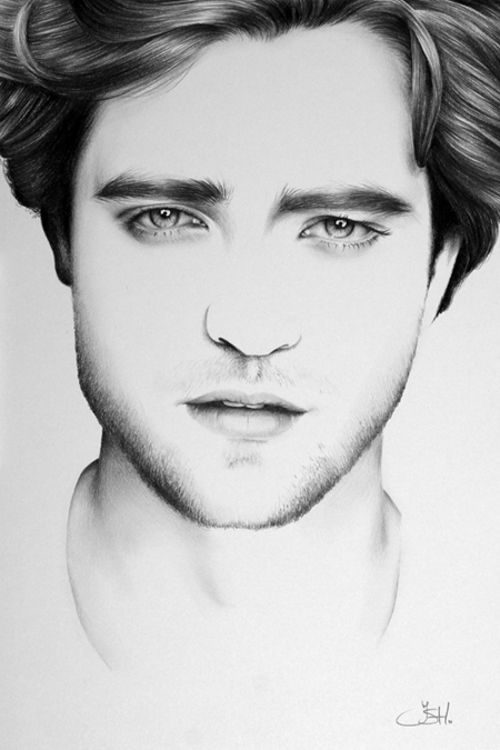 Robert Pattinson Minimal by IleanaHunter