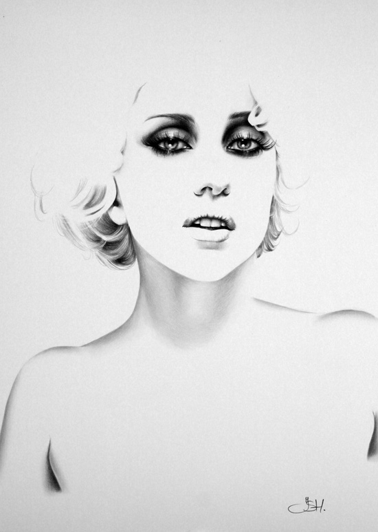 Lady Gaga Commission by IleanaHunter