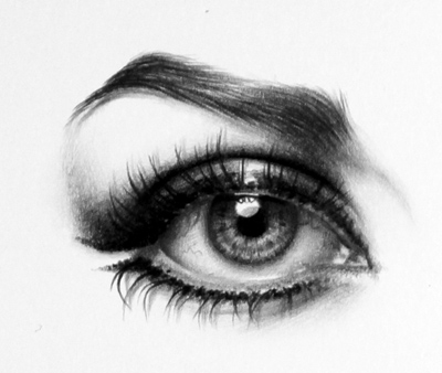 Natalie Wood Eye Detail by IleanaHunter